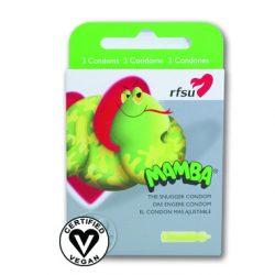 RFSU Mamba Vegan Condoms 3-Pack