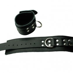Black Fur Line Wrist Restraints