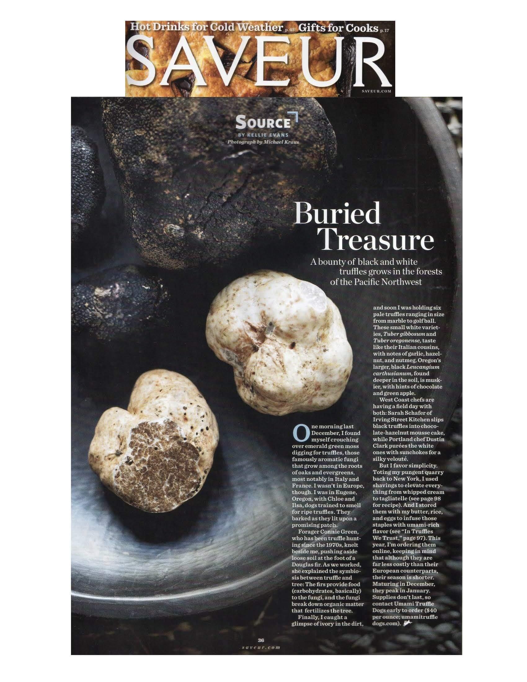 Saveur Dec 14 truffle hunt