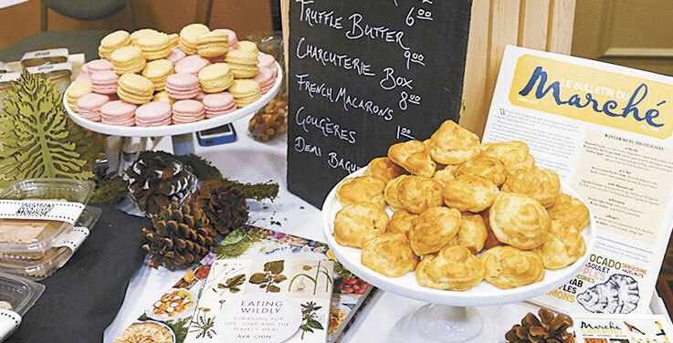 The Truffle Marketplace in Eugene gives attendees opportunities to purchase fresh truffles as well as goodies made by local artisans, such as Marché Restaurant.